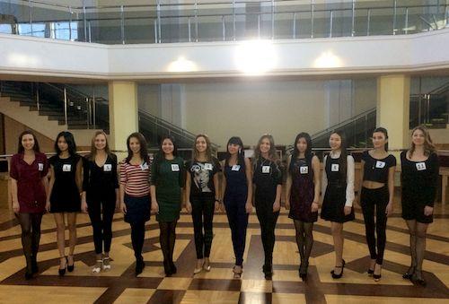 Финалистки конкурса «Принцесса Алтая – 2015»