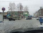 В Горно-Алтайске пошел дождь