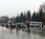 Транспортный коллапс произошел в Горно-Алтайске из-за дождя