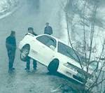 Из-за гололеда число аварий в Горном Алтае выросло вдвое