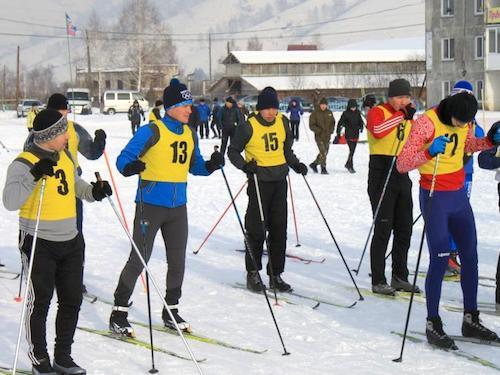 МВД провело соревнования по зимнему служебному двоеборью