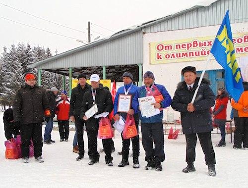 В Горно-Алтайске прошли соревнования по спортивному ориентированию на лыжах