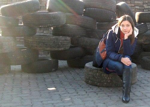 Киевлянку Валерию Гудину забанили в «Алтай Сӧӧктӧр». Фото vk.com/id6657940