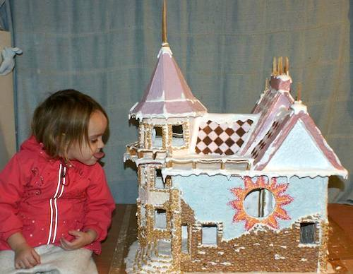 Пряничный домик. Фото Вячеслава Есипенко