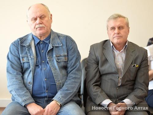 Владимир Макасеев и Сергей Шевердин