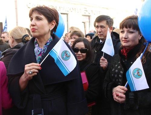 Республика Алтай, Москва