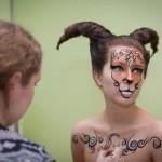 Финалистки «Принцессы Алтая» примерили на себя образы редких животных из Сайлюгема