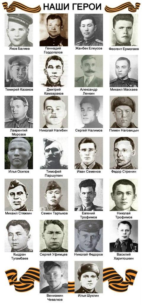 Наши герои. Инфографика «Новостей Горного Алтая»