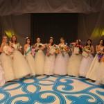 Участницы конкурса «Принцесса Алтая»