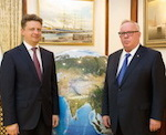 Бердников встретился с министром транспорта