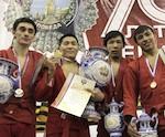Сороноков и Аткунов стали чемпионами России по самбо