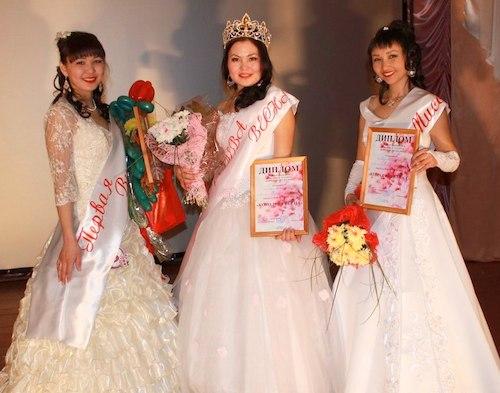 Победительницы конкурса «Королева весны»