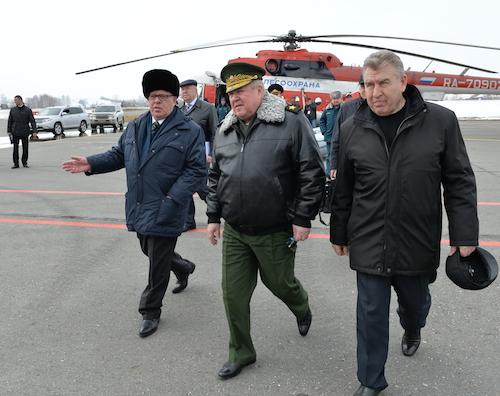 Полпред президента посетил Республику Алтай