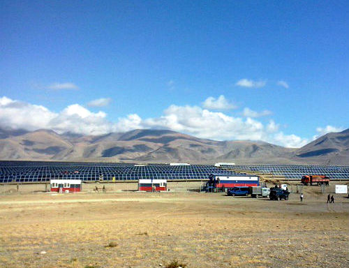 Солнечная электростанция в Кош-Агаче стала номинантом «Премии развития» Внешэкономбанка