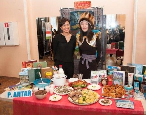 Алтайское землячество на фестивале «Меридианы дружбы»