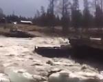 снесло мост на башкаусе