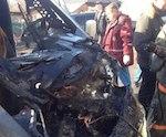 Один человек погиб и трое получили травмы в аварии в Горно-Алтайске (фото)