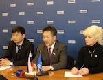Единороссы из Республики Алтай приняли участие в форуме социальных работников