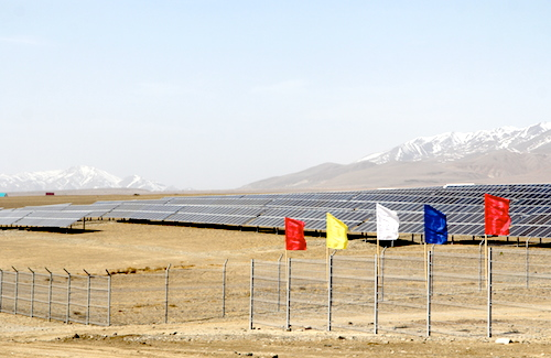 Первая солнечная электростанция
