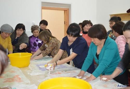 На базе центра ремесел в Купчегене прошел обучающий семинар