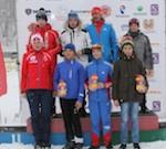 Горно-алтайские биатлонисты успешно выступили в Новосибирске