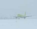Метели помешали трем московским рейсам приземлиться в Горно-Алтайске