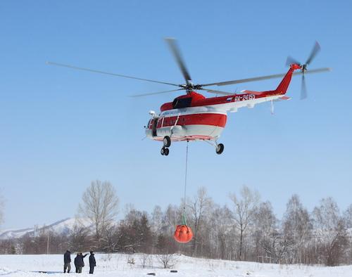 Десантники-пожарные провели тренировку перед началом «горячего» сезона