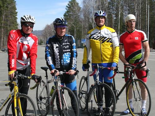 На Алтае прошли соревнования по велоспорту на шоссе
