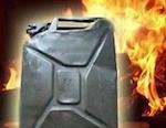 В Гусевке пьяный мужчина пытался сжечь себя, требуя возвращения бывшей жены