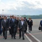 Министры иностранных дел России и Казахстана Сергей Лавров и Ерлан Идрисов провели переговоры в Горном Алтае. Фото: Александр Тырышкин
