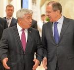 Министры иностранных дел России и Казахстана Сергей Лавров и Ерлан Идрисов провели переговоры в Горном Алтае