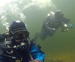 Новосибирские водолазы открыли сезон дайвинга на Телецком озере (видео)