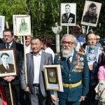 В Горно-Алтайске празднуют 70-летие Победы. Фото: А. Тырышкин