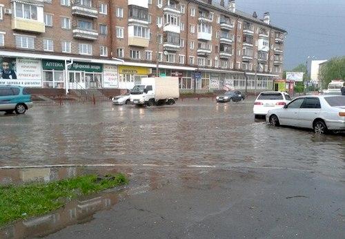 Потоп на Ткацкой. Фото: vk.com