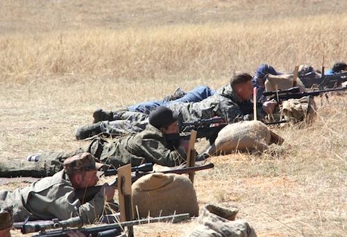 Около Хабаровки прошли соревнования по стрельбе из охотничьего нарезного оружия
