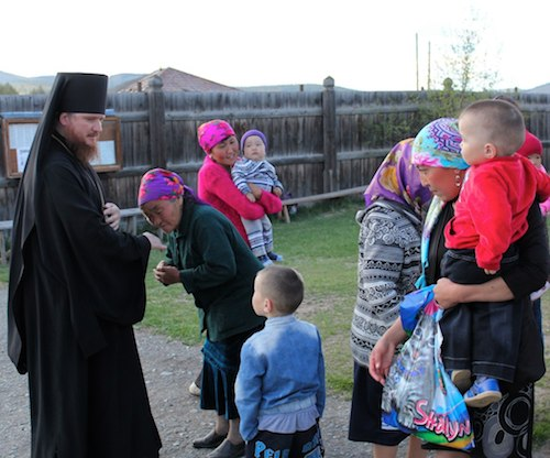 Епископ посетил Улаганский район