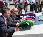 В Малом Яломане открыли Мемориал Славы