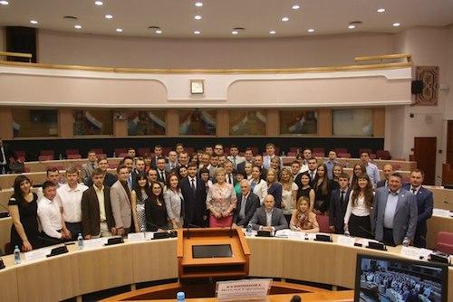 В Самаре состоялось отчетно-выборное заседание Молодежного парламента при Государственной Думе России