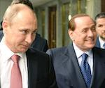 Кремль официально подтвердил, что Путин и Берлускони были на выходных в Горном Алтае