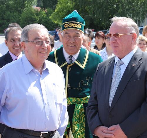 Евгений Примаков в Горно-Алтайске