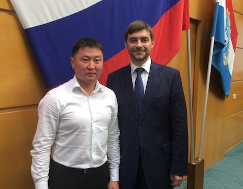 Республику Алтай на этом форуме представлял спикер республиканского молодежного парламента Артур Сабин