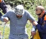 68-летний пенсионер сорвался со скалы на Катунском хребте