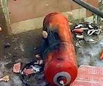 В Акташе в одной из квартир взорвался газовый баллон