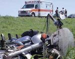 В Ябогане погиб мотоциклист