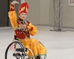 Алтынай Иртамаева успешно выступила на конкурсе «Мисс интеграция» (фото)