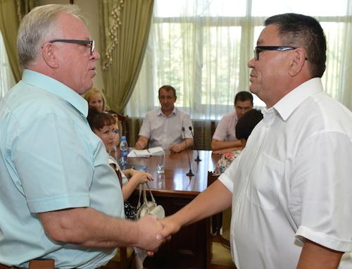 Александр Бердников (слева) и Игорь Яимов (справа)