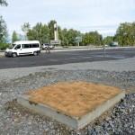 Место установки памятника на въезде в Республику Алтай