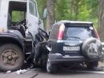 В страшной аварии на Чуйском тракте погибли пять человек (фото)