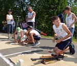 В Еланде прошли соревнования по летнему биатлону