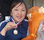 Людмила Рыспаева завоевала путевку на финал Кубка России по паратриатлону